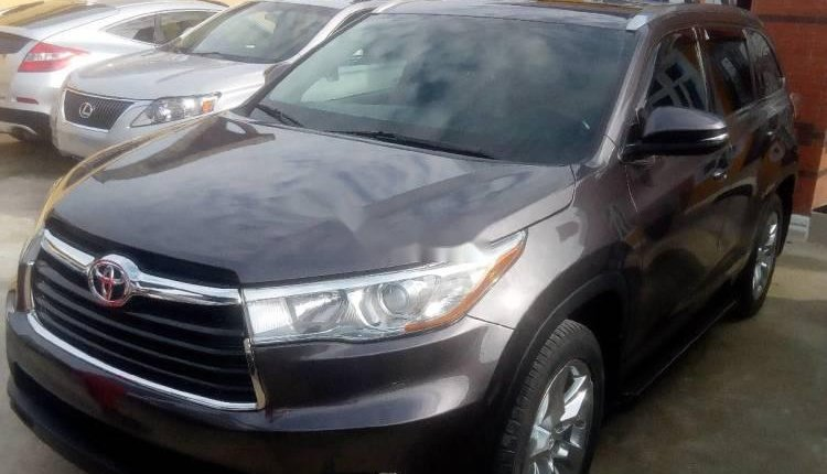 Tokunbo Toyota Highlander 2015 Automatic Full option-0