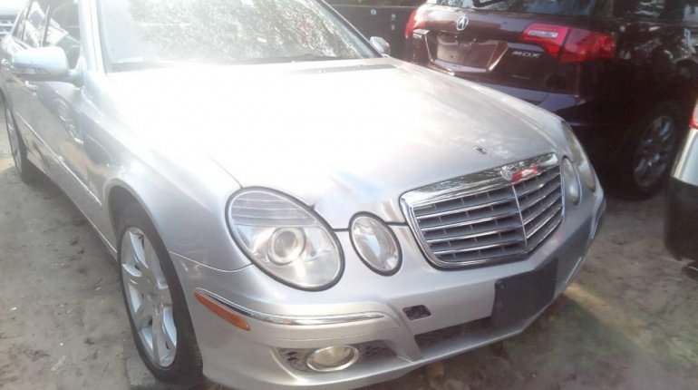 Foreign Used Mercedes-Benz E350 2007 Model -1