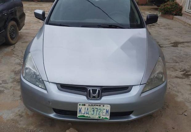 Very Clean Nigerian used Honda Accord Automatic 2003-0