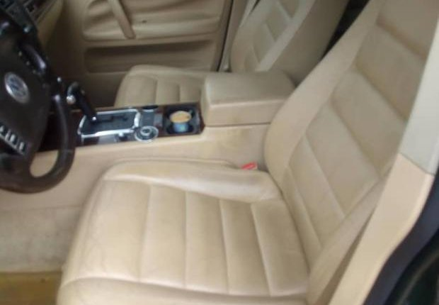 Very Clean Nigerian used Volkswagen Touareg 2003 Green-4