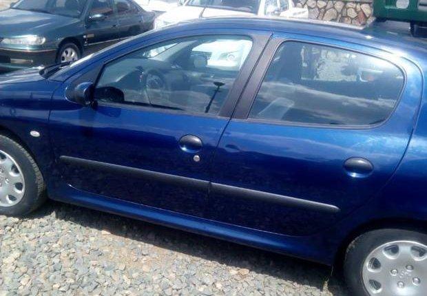 Tokunbo Peugeot 206 2002 Model Blue-6