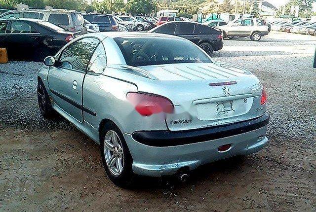 Nigeria Used Peugeot 206 2004 Model Silver-4