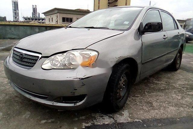 Nigeria Used Toyota Corolla 2003 Model Gold-9