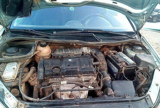 Nigeria Used Peugeot 206 2004 Model Silver-0