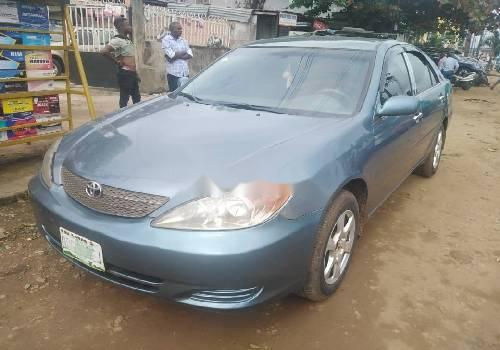 Nigeria Used Toyota Camry 2003 Model Blue-3