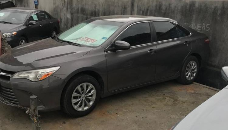 Foreign Used Toyota Camry 2016 Model Black-6
