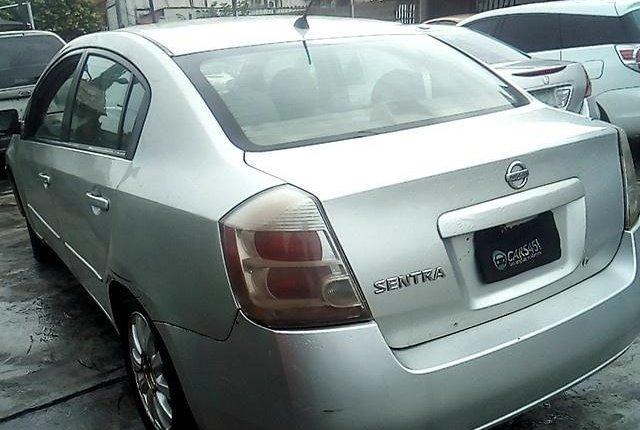 Nigeria Used Nissan Sentra 2008 Model Silver-4