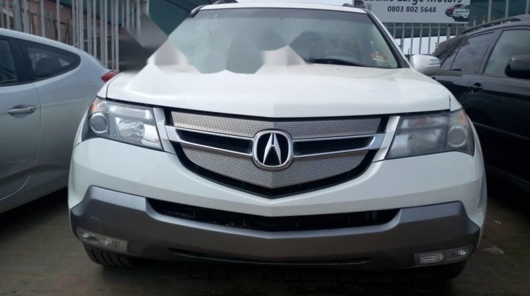 Foreign Used Acura MDX 2007 Model White-12
