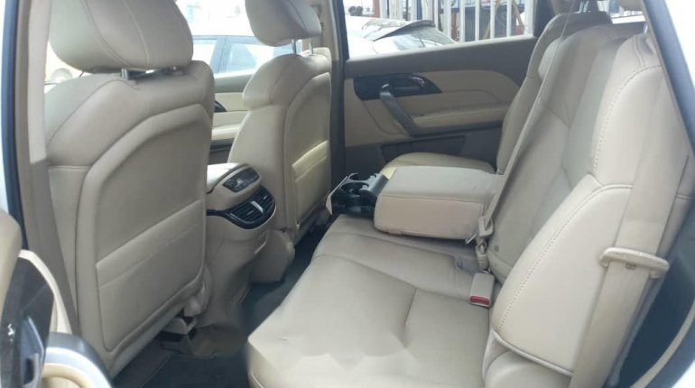 Foreign Used Acura MDX 2007 Model White-1