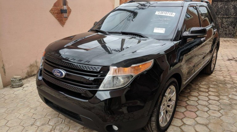 Tokunbo Ford Explorer 2013 Model Black-4