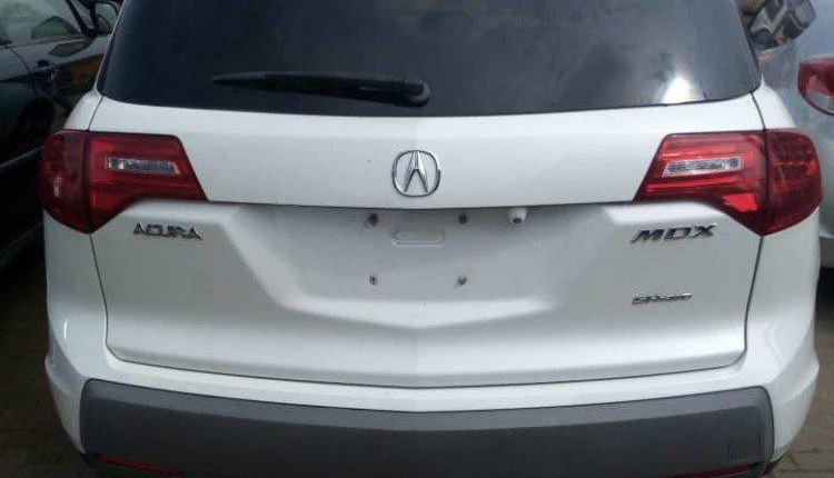 Foreign Used Acura MDX 2007 Model White-10