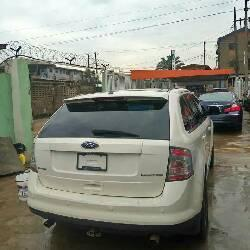 Tokunbo Ford Edge 2008 Petrol Automatic White-6