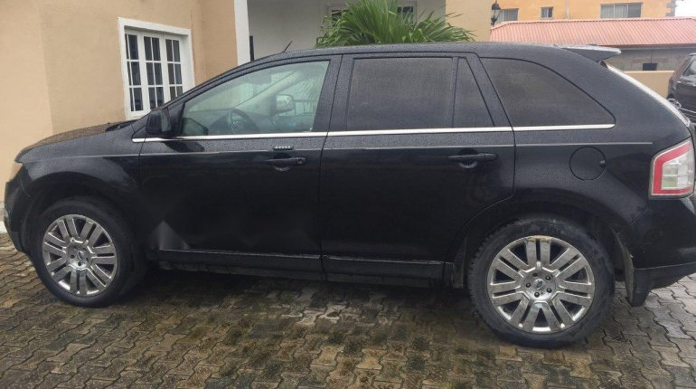 Nigeria Used Ford Edge 2010 Model Black-2