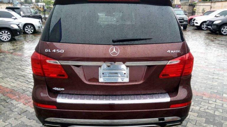 Tokunbo Mercedes-Benz ML350 2014 Model Red-1