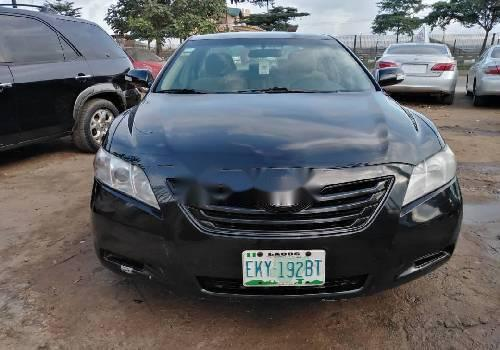 Nigeria Used Toyota Camry 2008 Model Black-5