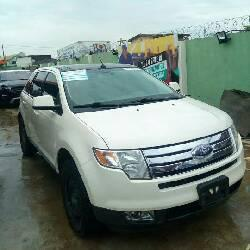 Tokunbo Ford Edge 2008 Petrol Automatic White-3