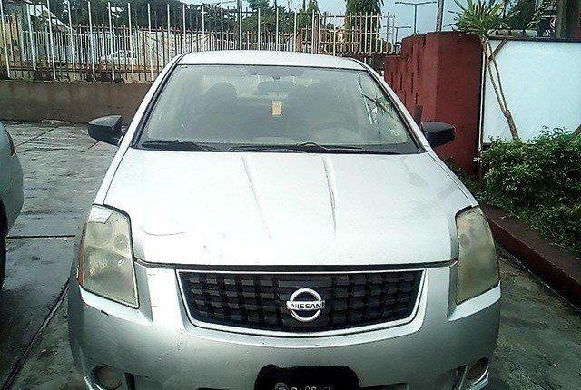 Nigeria Used Nissan Sentra 2008 Model Silver-12