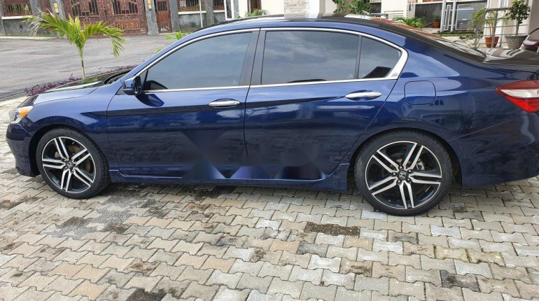 Foreign Used Honda Accord 2016 Model Blue-5