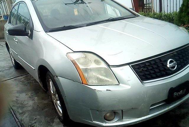 Nigeria Used Nissan Sentra 2008 Model Silver-9