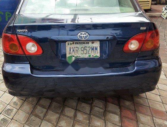 Nigeria Used Toyota Corolla 2004 Model Blue-5