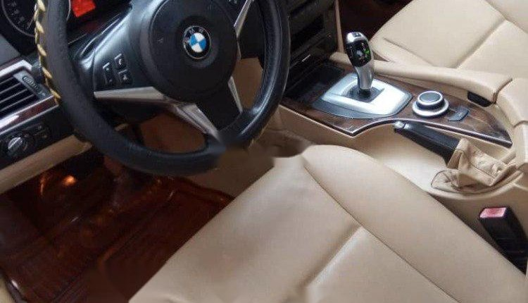 Nigeria Used BMW 5 Series 2009 Model Black-7