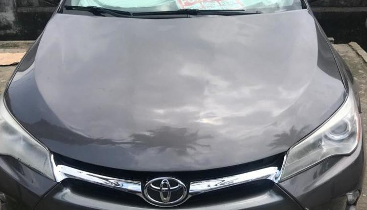 Foreign Used Toyota Camry 2016 Model Black-4