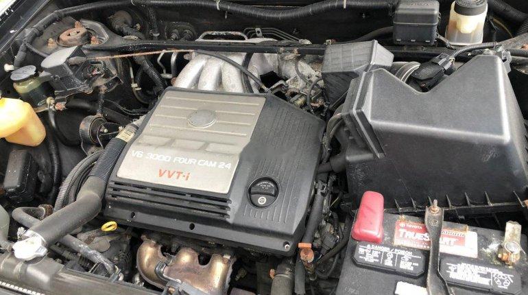 Tokunbo Toyota Highlander 2003 Model Black-0