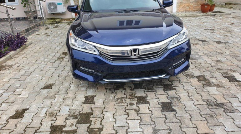 Foreign Used Honda Accord 2016 Model Blue-7