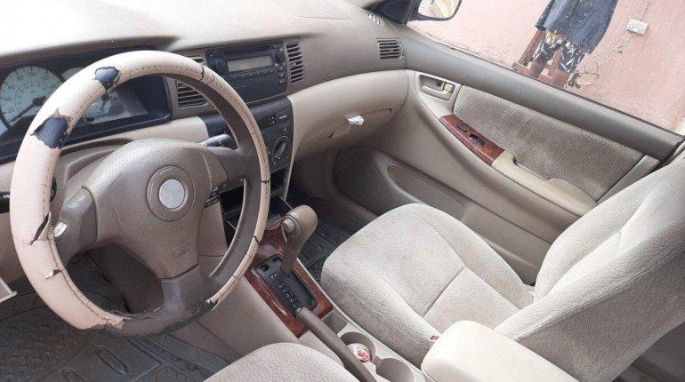 Nigeria Used Toyota Corolla 2004 Model Blue-0
