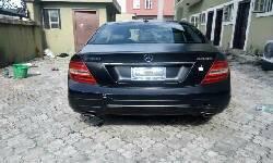 Nigeria Used Mercedes-Benz C300 2008 Model Black-4