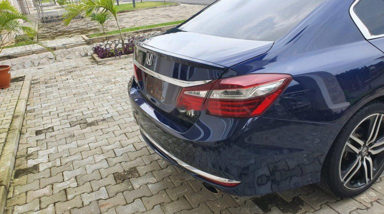 Foreign Used Honda Accord 2016 Model Blue-0