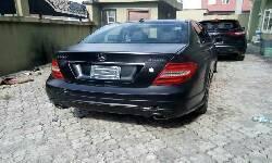 Nigeria Used Mercedes-Benz C300 2008 Model Black-3