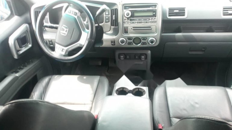 Foreign Used Honda Ridgeline 2007 Model Black-4