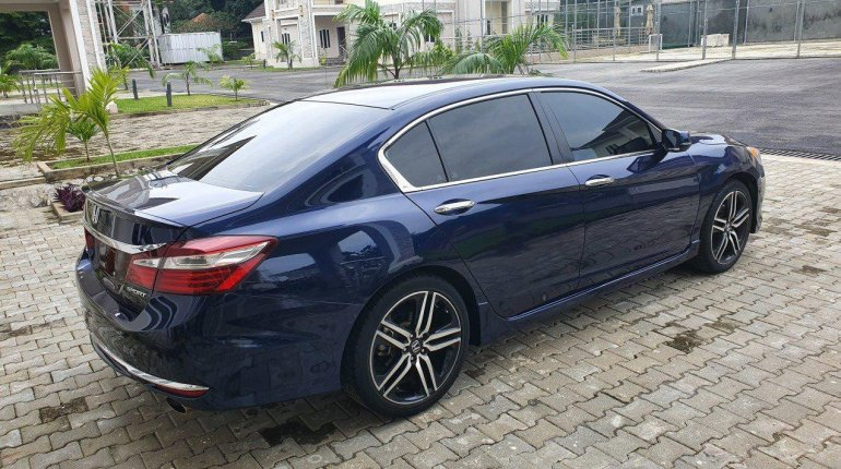 Foreign Used Honda Accord 2016 Model Blue-1