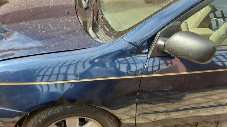 Nigeria Used Toyota Corolla 2004 Model Blue-2