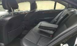 Nigeria Used Mercedes-Benz C300 2008 Model Black-7