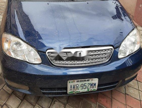 Nigeria Used Toyota Corolla 2004 Model Blue-4