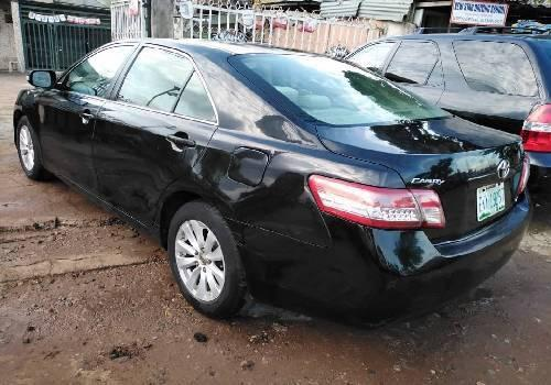 Nigeria Used Toyota Camry 2008 Model Black-4