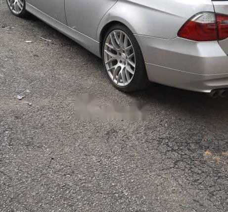 Foreign Used BMW 328i 2006 Model Silver-3
