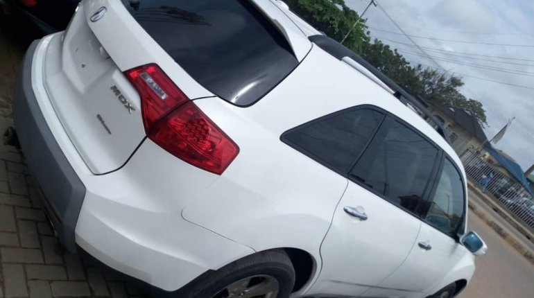 Foreign Used Acura MDX 2007 Model White-5