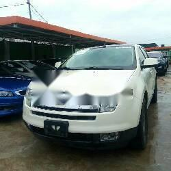 Tokunbo Ford Edge 2008 Petrol Automatic White-0