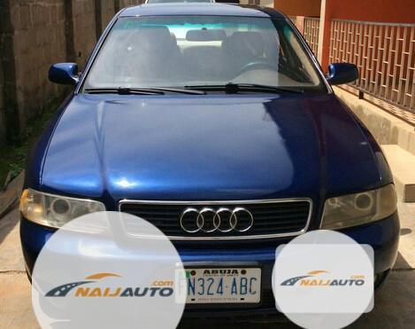Nigeria Used Audi A4 2000 Model Blue-5