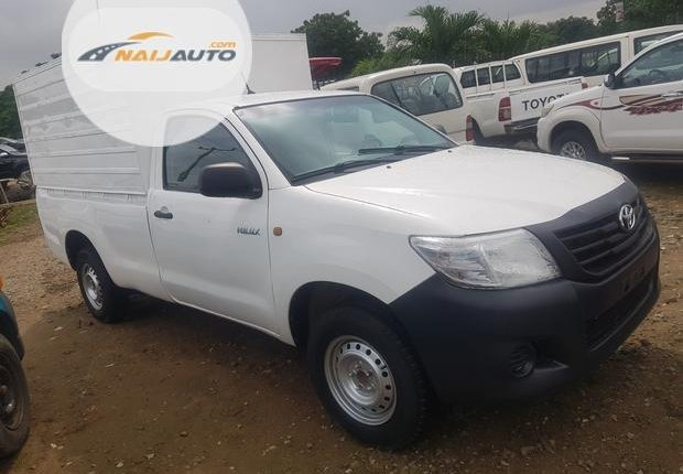 Foreign Used Toyota Hilux 2010 Model White -1