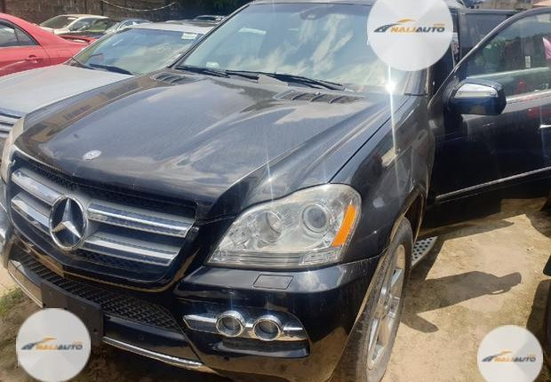 Super CleaForeign used Mercedes-Benz GL Class 2008 GL 450 Black-8