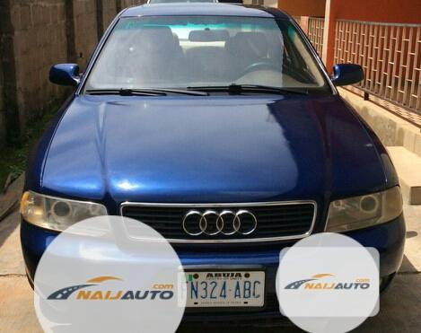 Nigeria Used Audi A4 2000 Model Blue-6
