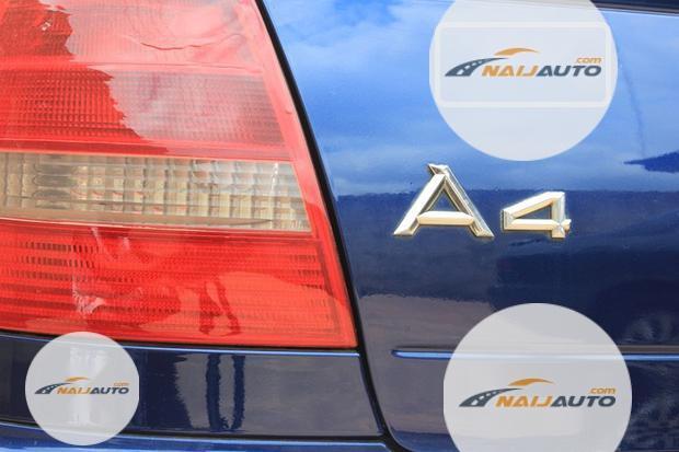 Nigeria Used Audi A4 2000 Model Blue-1