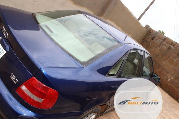 Nigeria Used Audi A4 2000 Model Blue-4
