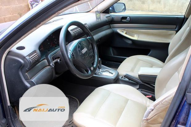 Nigeria Used Audi A4 2000 Model Blue-2
