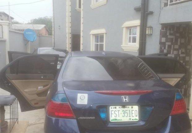 Nigeria Used Honda Accord 2007 Model Blue-0