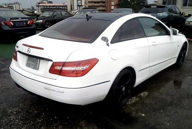 Super Clean Nigerian used 2012 Mercedes-Benz E350 -4